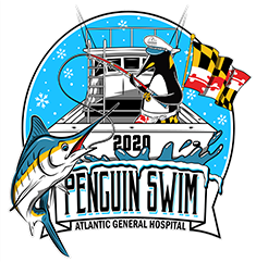 Penguin Swim Logo 2019